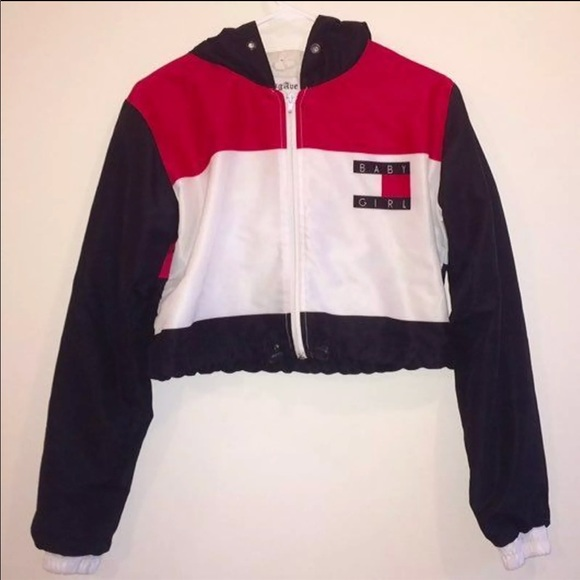 Tommy Hilfiger Jackets Amp Coats Iso Tommy Cropped Baby